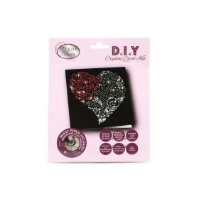 Beads Direct Rose Flower Crystal Card Kit