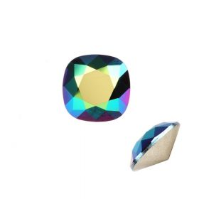 4470 Swarovski Crystal Square Fancy Stone 12mm Crystal Scarabaeus Green F Pk1