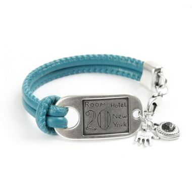New York Dreams Silver Bracelet