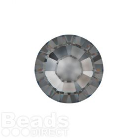 2078 Swarovski Crystal Hotfix Round 4mm SS16 Crystal Silver Night A HF Pk1440