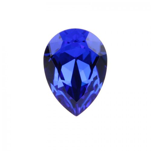 4320 Swarovski Crystal 13x18mm Drop Fancy Stone Majestic Blue F Pk1