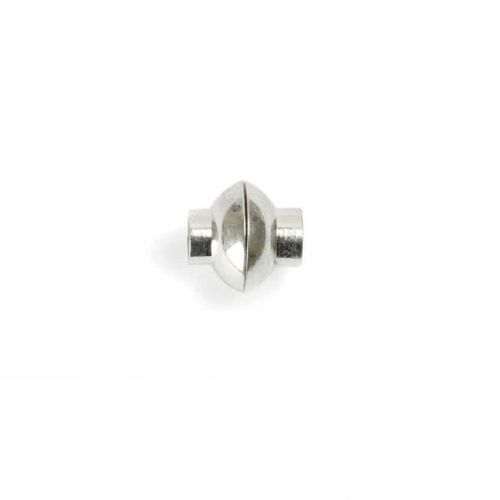 Silver Plated 6mm Magnetic Clasp Pk1