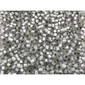 TOHO ™ / Round 11/0 / Silver-Lined Frosted / Black Diamond / 10g / ~ 1100pcs