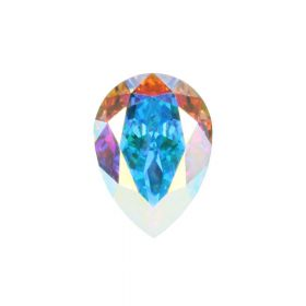 4320 Swarovski Crystal 13x18mm Drop Fancy Stone Crystal AB F Pk1