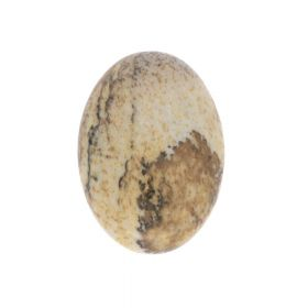 Picture jasper / cabochon / oval / 13x18x5mm / 1pcs