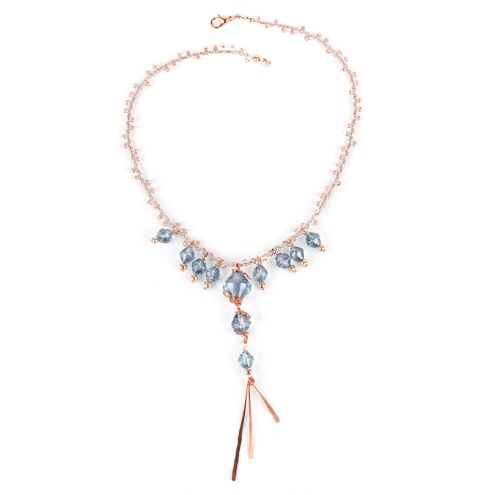 Crystal Plume Necklace
