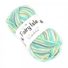 """X"" Wintergreen Cygnet Fairy Isle Wool Cord 50g"