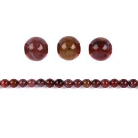 Portugal Agate Round Semi Precious Beads 10mm Pk10
