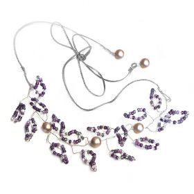Beads Direct Twisted Bridal/Prom Kit - Silver