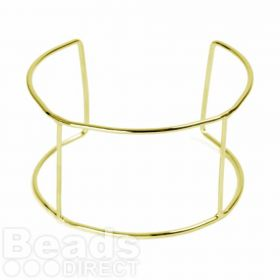 Gold Bangle Base 60x40mm Pk1
