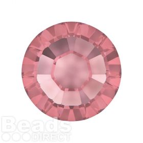 2078 Swarovski Crystal Hotfix Round 7mm SS34 Crystal Antique Pink A HF Pk144