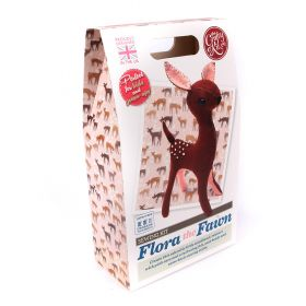 The Crafty Kit Company Flora the Fawn Sewing Kit
