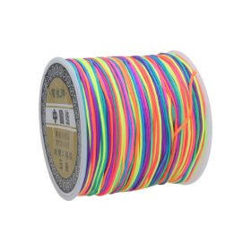Macramé™ / Macramé cord / nylon / 0.8mm / multicolor / 100m