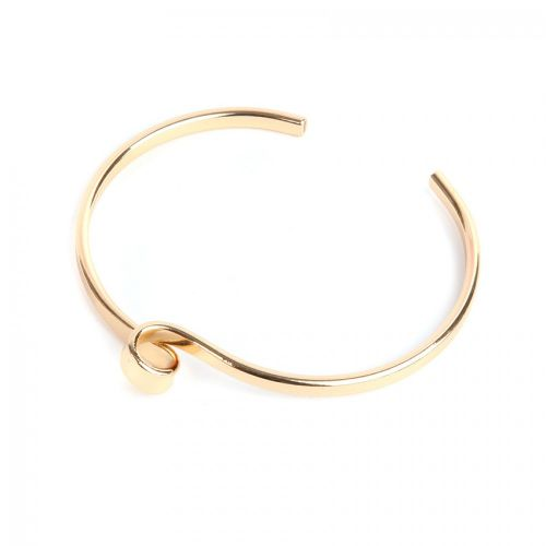 Gold Plated Swirl Top Bangle Base 60mm Pk1
