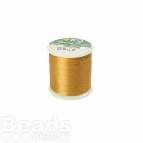 KO Beading Thread Gold 50m