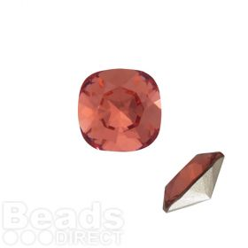 4470 Swarovski Crystal Square Fancy Stone 12mm Padparadscha F Pk1
