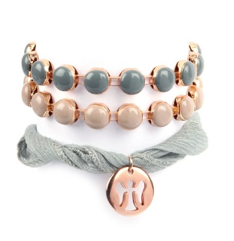 Blushing Clouds Bracelets