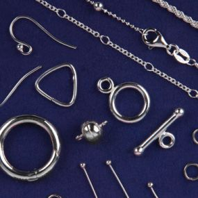 Sterling silver chain & findings