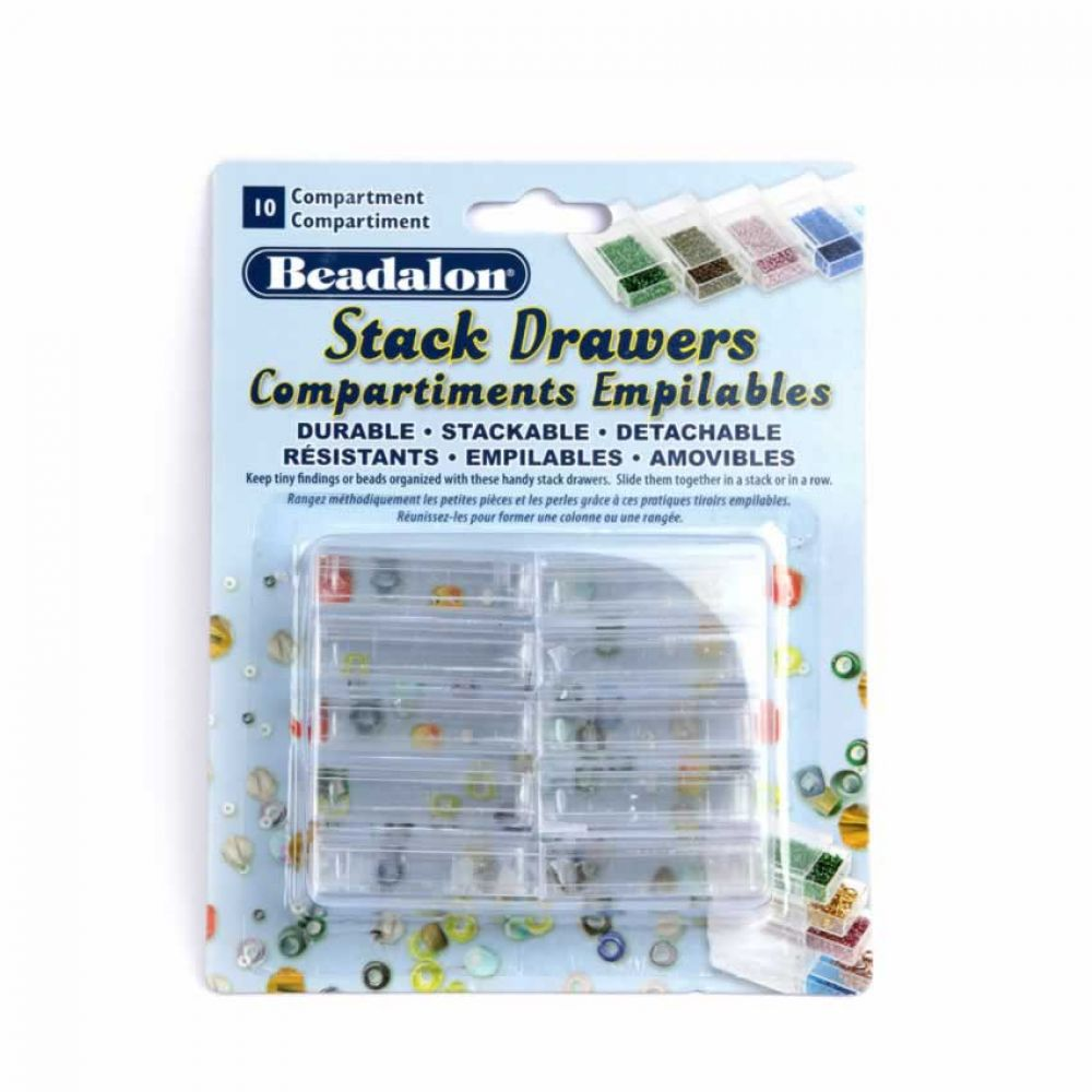 Beadalon Stack Drawers 10 Piece Set | Beads Direct
