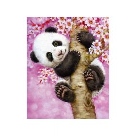 Diamond painting / mosaic / panda / 20x25cm / 1pcs