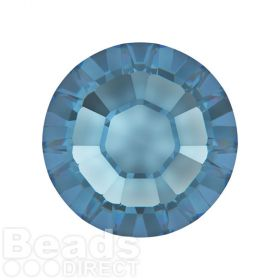 2078 Swarovski Crystal Hotfix Round 7mm SS34 Denim Blue A HF Pk144