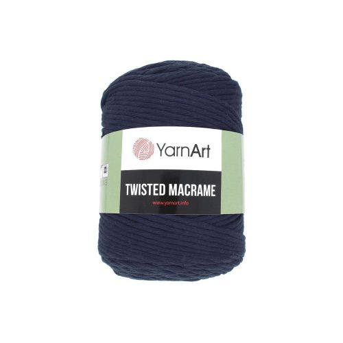 YarnArt ™ Macrame Twisted / cord / 60% cotton, 40% viscose and polyester / colour 784 / 500g / 210m
