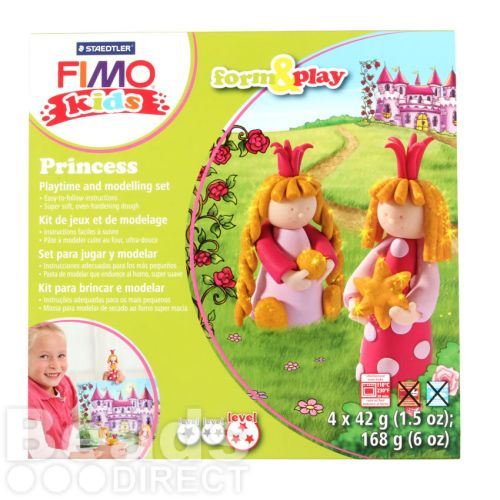 Staedtler Fimo Kids Princess Set Form and Play 4x42g(5.9oz)