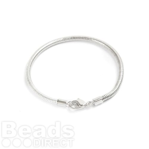 180000 Swarovski 180mm Rhodium BeCharmed Bracelet with Lobster Clasp Pk1