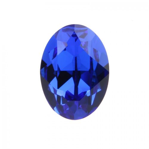4120 Swarovski Crystal 13x18mm Oval Fancy Stone Majestic Blue F Pk1