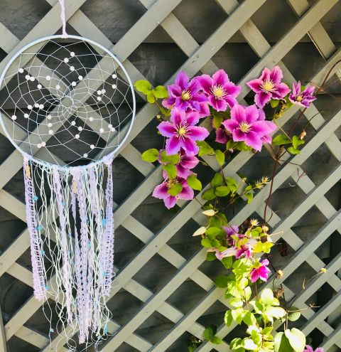 How to make a Dreamcatcher - step by step tutorial