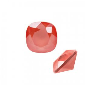 4470 Swarovski Crystal Square Fancy 12mm Crystal Light Coral Pack of 1