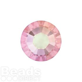 2078 Swarovski Crystal Hotfix Round 4mm SS16 Light Rose AB A HF Pk1440