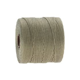 BEADSMITH ™ / thread SuperLon Fine / nylon / Tex 135 / Sand / 0.5mm / 108m