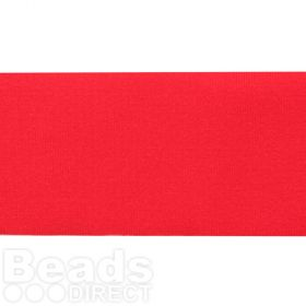Red Lycra Ribbon Cord 30mm Pre Cut 1 Metre