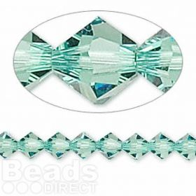 5328 Swarovski Crystal Bicones Xillion 6mm Erinite Pk24