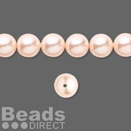 5810 Swarovski Glass Pearls 8mm Peach Pk25