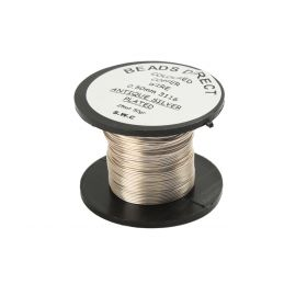 Craft Wire Supa Clear (Antique Silver) 0.5mm 25m