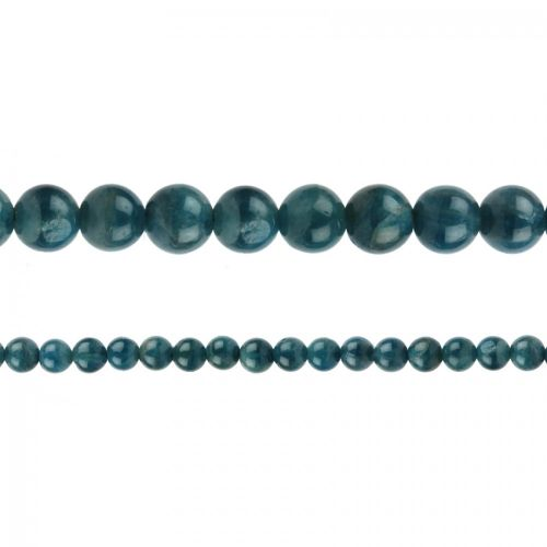 "Natural Apatite Semi Precious Rounds 4mm 15"" Strand"