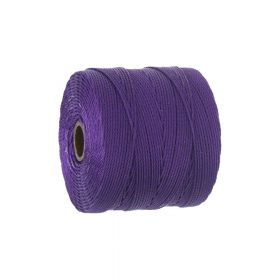 BEADSMITH ™ / thread SuperLon Fine / nylon / Tex 135 / Purple / 0.5mm / 108m