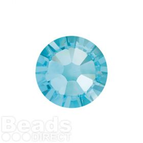 2088 Swarovski Crystal Flat Backs Non HF 4mm SS16 Aquamarine F Pk1440