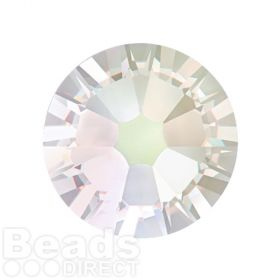 2088 Swarovski Crystal Flat Backs Non HF 7mm SS34 Crystal Moonlight F Pk144