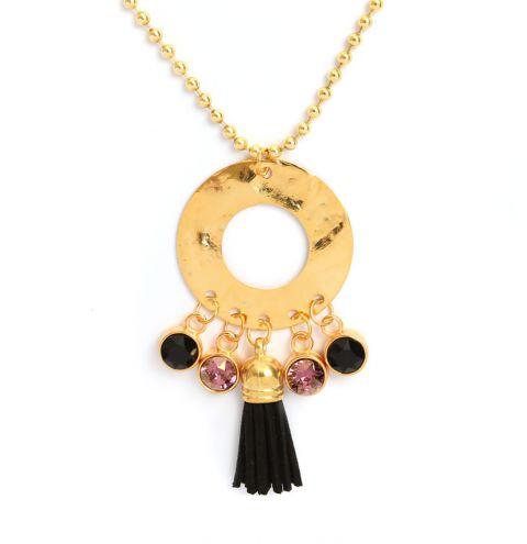 Enigma Gold Necklace