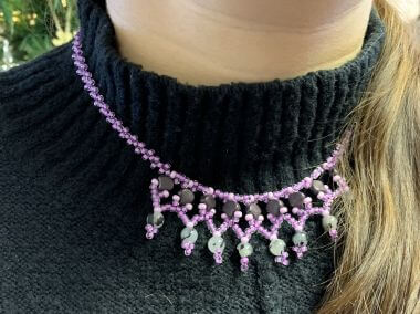How to Make a Ginko™ & Semi Precious Necklace - Jewellery Making Tutorial