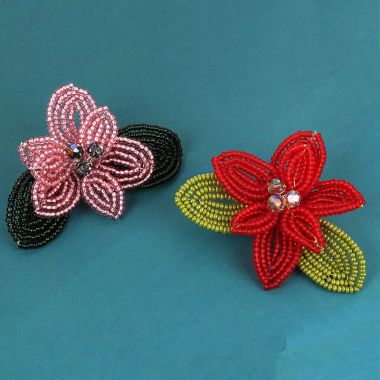 French Flower Brooch | Take a Make Break