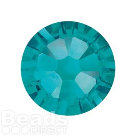2088 Swarovski Crystal Flat Backs Non HF 7mm SS34 Blue Zircon F Pk144