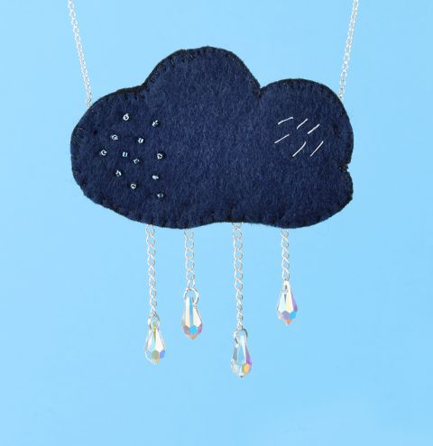 April Showers Necklace