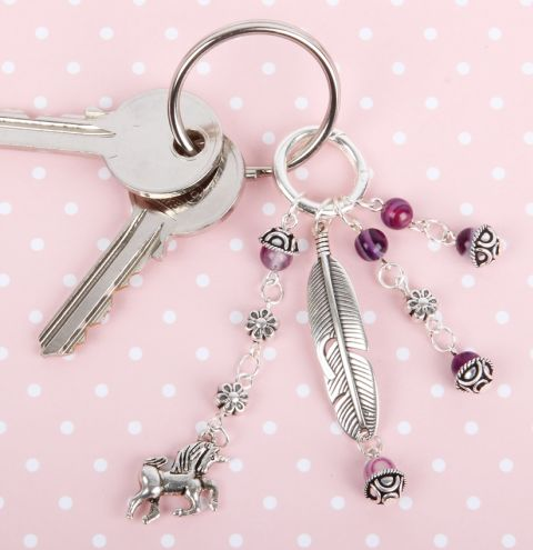 Unicorn Dream Key ring