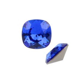 4470 Swarovski Crystal Square Fancy 10mm Majestic Blue F Pk1