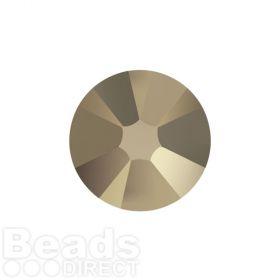2088 Swarovski Crystal Flat Backs Non HF 4mm SS16 Crystal Metallic Lt Gold F Pk1440