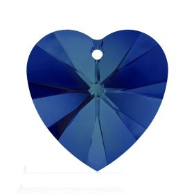 6228 Swarovski Crystal Hearts 10mm Crystal Bermuda Blue Pk288
